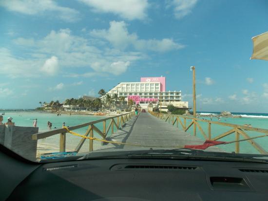 Piscina del rey foto di mia reef isla mujeres isla for Piscina isla leon