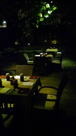 The Raintree: Outdoor seating