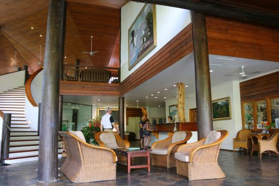 Foyer Reception Area : The foyer and reception area picture of thala beach