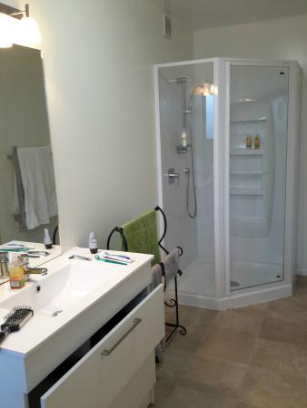 The B & B on the Hill: bathroom