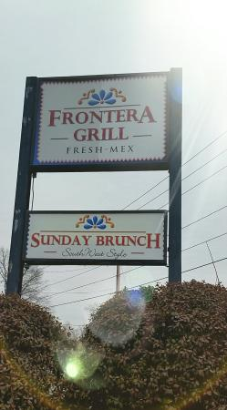 Frontera Grill: Sign and exterior pictures