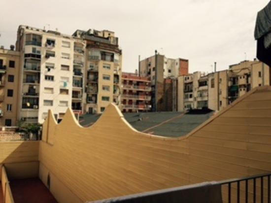 AinB Eixample Entenza: View from Balcony