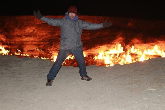 Door to Hell  Gas Deposit The Door to Hell. & The Door to Hell. - Picture of