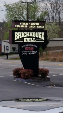 Menu Picture Of Brickhouse Grill Concord TripAdvisor