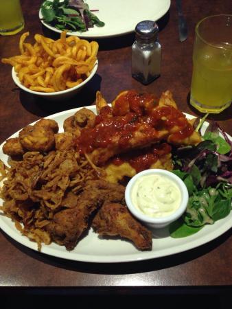 Blue Chicago Grill: Peri peri chicken