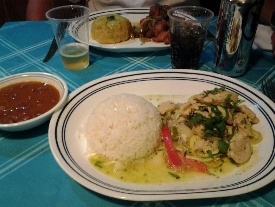 El Caobo: Pork with mofongo (mashed plantain)
