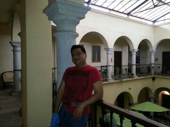 Casona Oaxaca: vista interna del hotel
