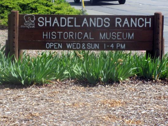 Shadelands Ranch Museum, Iganacio Valley Road, Walnut Creek, Ca