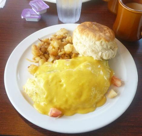 Our Place Restaurant: Benedict Omelet...