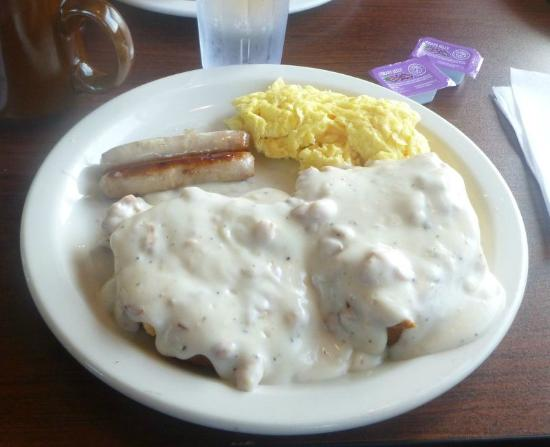 Our Place Restaurant: Biscuits & Gravy Combo...