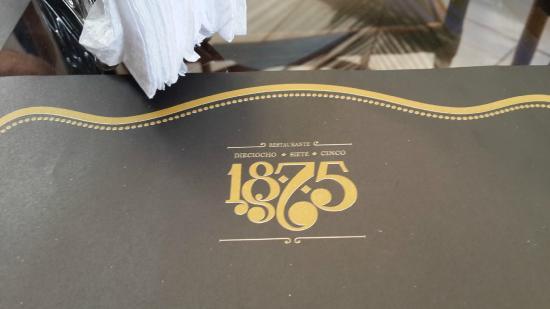 Restaurante 1875