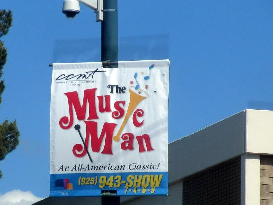 Music Man, Lesher Center for the Arts, Walnut Creek, Ca