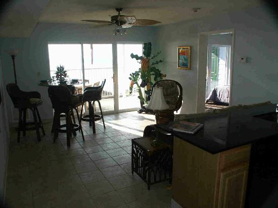 Condo living room - Picture of St. Hazards, Middle Bass - TripAdvisor