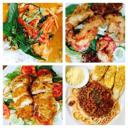 Maryoo Samui Hotel: Lækker mad