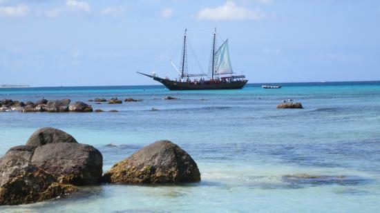 Buffam's Tropical Haven: Arishi Beach, short car ride away, great snorkling