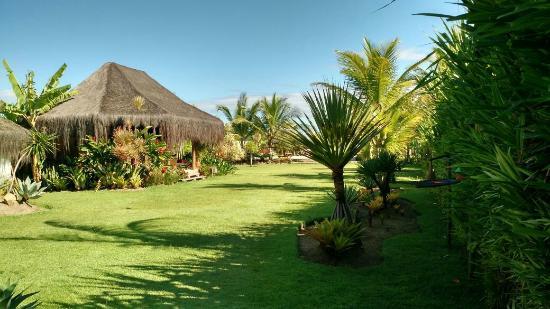 Pousada Barrabella : jardim