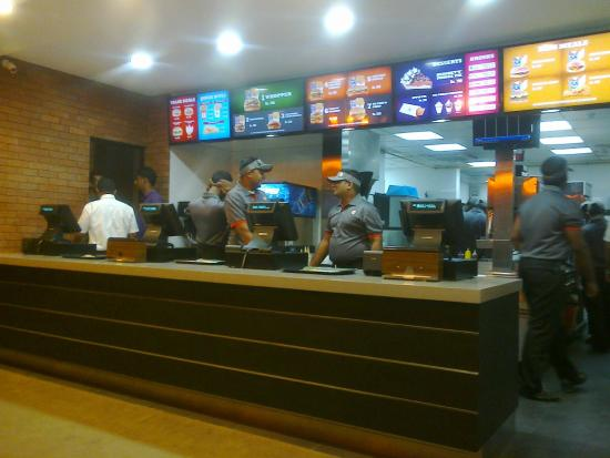 Burger King Mount Lavinia: BurgerKing Mount