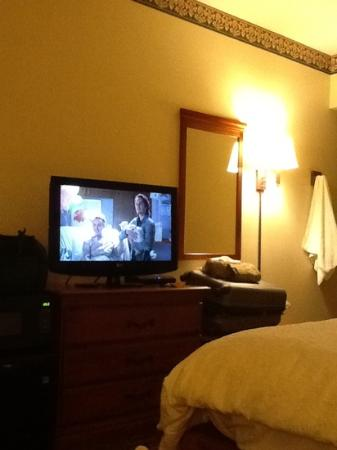 Clarion Inn: HD tv