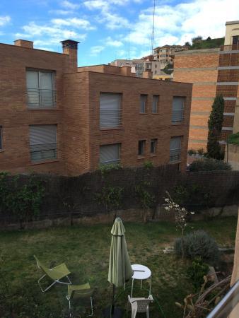 Tibidabo Apartments: View of Room 28.3.2015