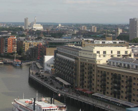 Butler's Wharf from Tower Bridge