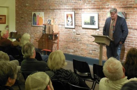 Northwind Arts Center : The Reading Series brings writers to the Arts Center
