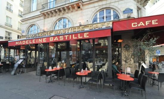 Madeleine : La terrasse