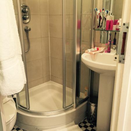 Duke of Leinster Hotel: Bathroom