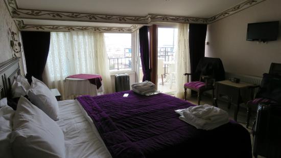 Hotel El Blanco: Top floor rooms are nice