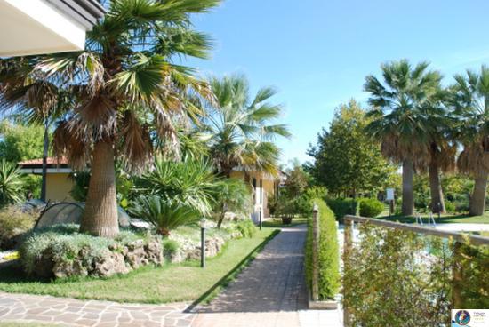 Villaggio Selene Mare: spazi verdi e viali d'accesso ai villini