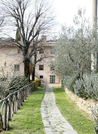 Borgo I Vicelli Country Relais: Vår byggnad där vi bodde