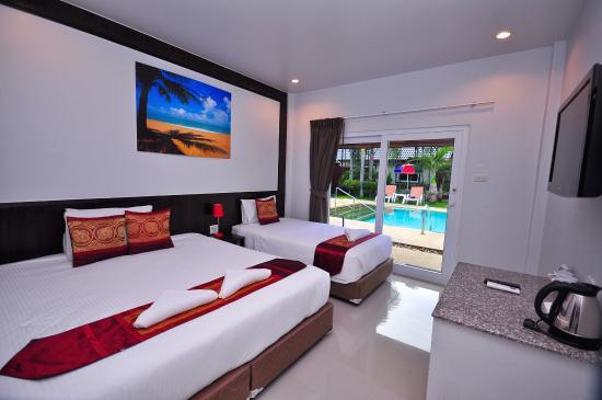 Phuket Airport Hotel : Tripple room