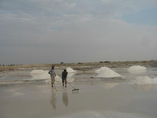 Salt Pans near Jamba