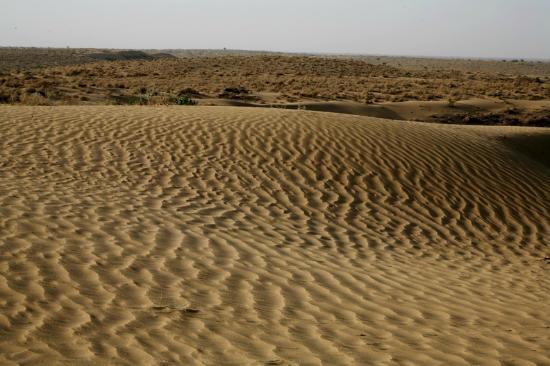 Jamba, Hindistan: Desert