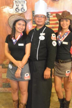 Western Steak House : our staff