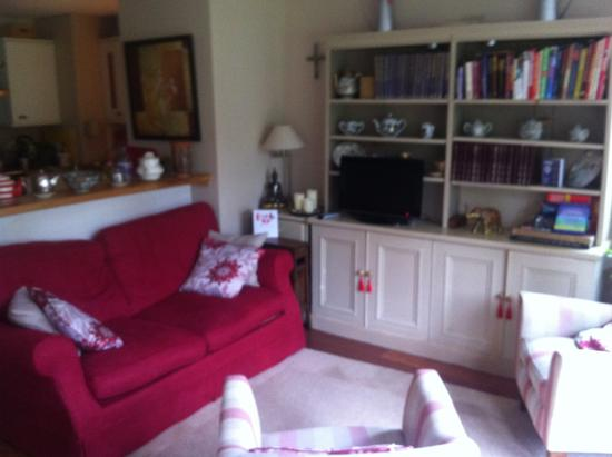 Living room in Richmond Cottage