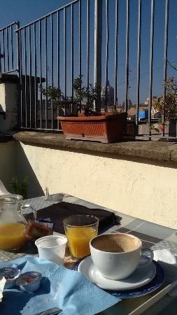 Bed & Breakfast Il Tesoro : La terrasse
