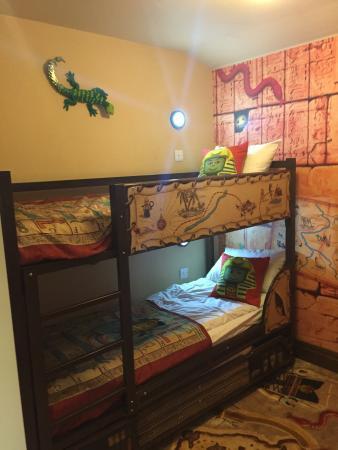 Bunk Beds In Adventure Room Picture Of Legoland Windsor Resort