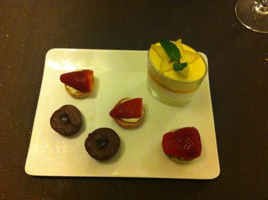 Chez Ospi : Trilogie de dessert