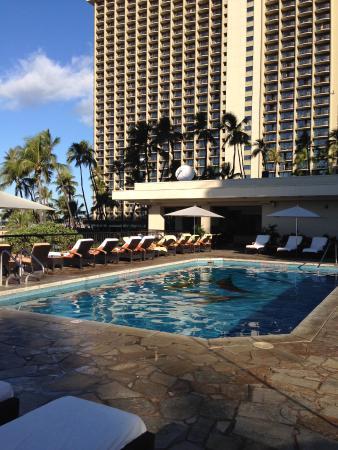 Hilton Hawaiian Village Waikiki Beach Resort The Private Ali I Tower Pool Deck