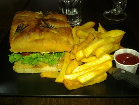 Kerttu has really nice Hamburger meals