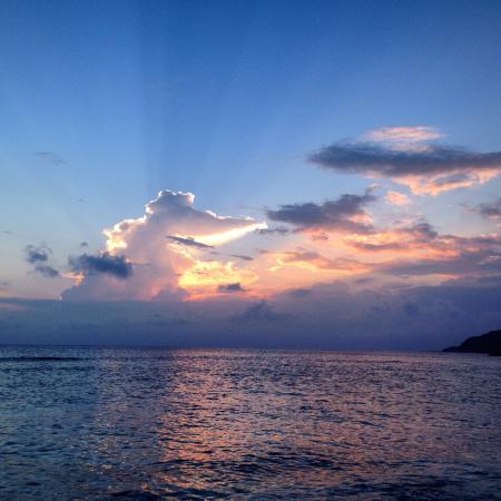 Green Island : 大白沙日落