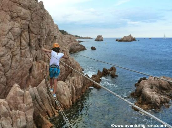 Girona, Spain: Via Ferrata/ Vies Ferrades