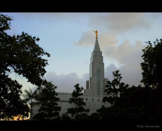 Templo Mormon - Igreja de Jesus Cristo dos Santos dos Ultimos Dias