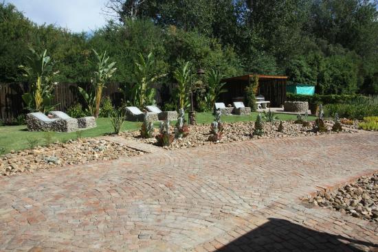 Die Fonteine: relaxing area