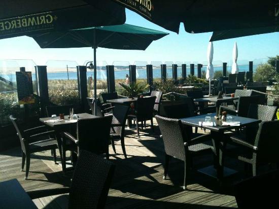 Mirador Le : La terrasse du Restaurant