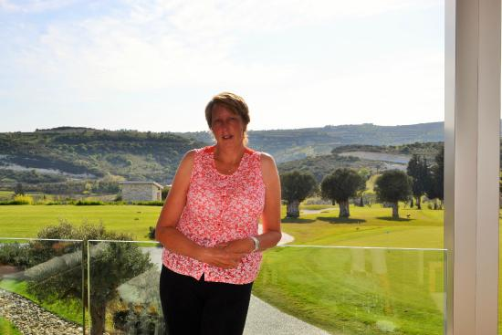 Minthis Hills Golf Club : Terrace overlooking the course