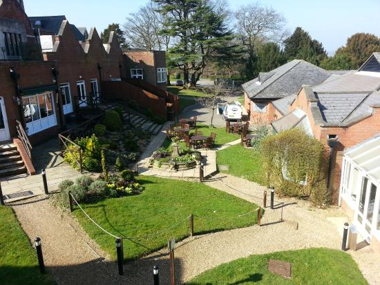 The Hog's Back Hotel & Spa Farnham: View