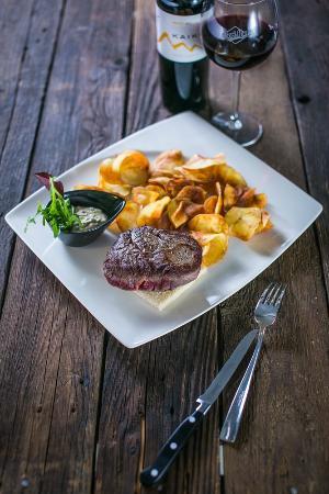 Bori Mami kávézó és étterem: Argentín bélszín steak