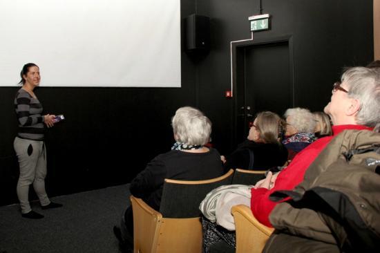 Volcano House : Group of seniors from Sweden