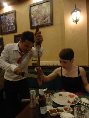 Rodizio Brazil Phuket Steakhouse : Мяса, много мяса